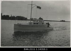 KL Tartu maleva mootorpaat Kotkas 1937